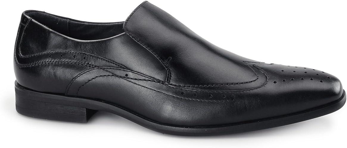 Azor Vicenza Mens Leather Slip On