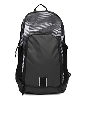 48a600b3f1 Nike Unisex Black   Grey Alpha Adapt Rev Striped Training Backpack  (BA5252-021)  Amazon.in  Bags