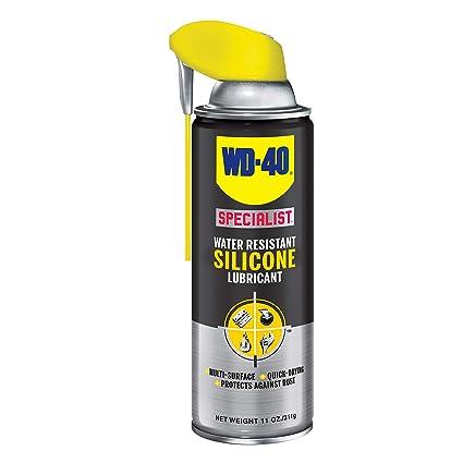 Silicone Spray Lubricant >> Wd40 Company 300012 Specialist Silicone Spray Smart Straw 11 Oz