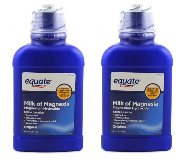 Amazon.com: Equate Milk of Magnesia 26 Oz (2 Pack, Original): Health & Personal Care