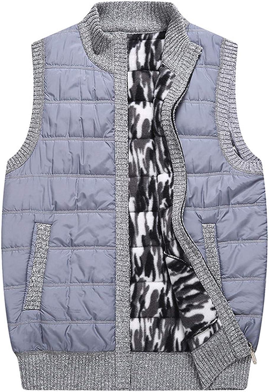 XinDao Mens Diamond Quilted Nylon Vest