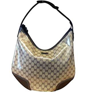 9dbd52b28f7f Amazon.com: Gucci Boston Bowling Bag Canvas Handbag 264210 (Fuchsia ...