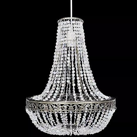 SHENGFENG lámpara de techo con tulipa cristal 36,5 x 46 cm ...