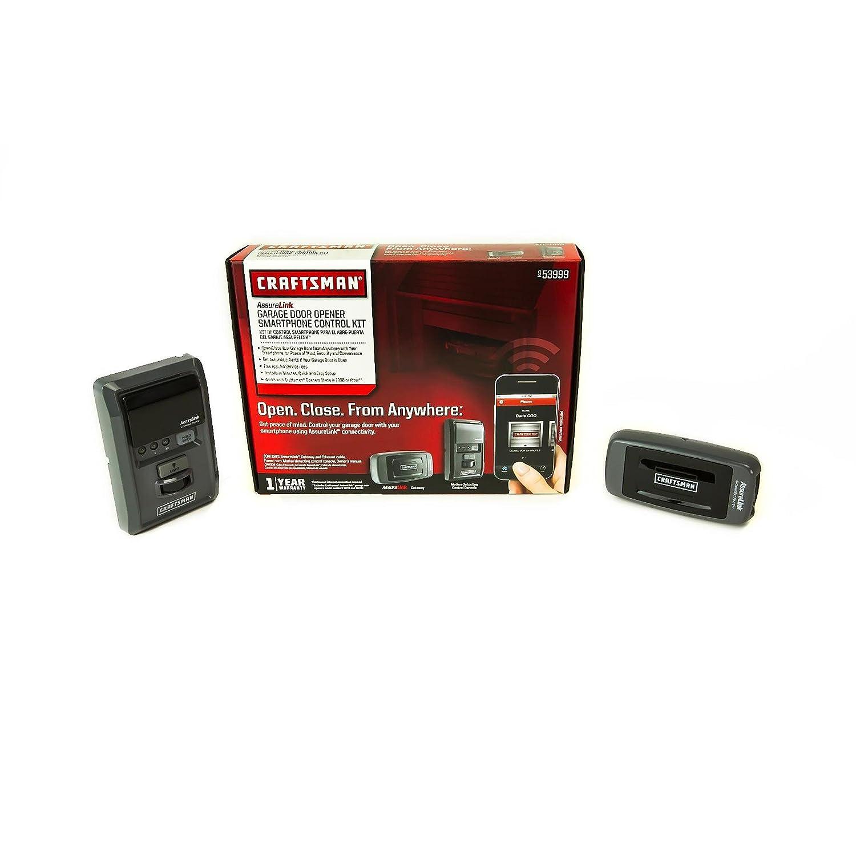 Craftsman Assurelink Smart Control Garage Door Opener Smartphone