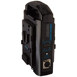 Dracast DR-CH2V V-Mount Dual Battery Charger, Black