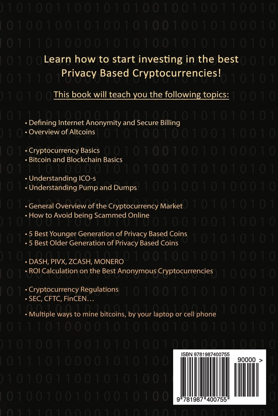 altcoin investing course anonymous cryptocurrencies