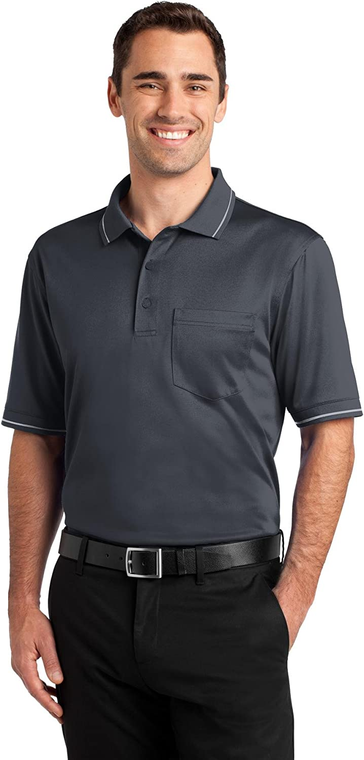 Cornerstone Men's Select Snag Proof Tipped Pocket Polo