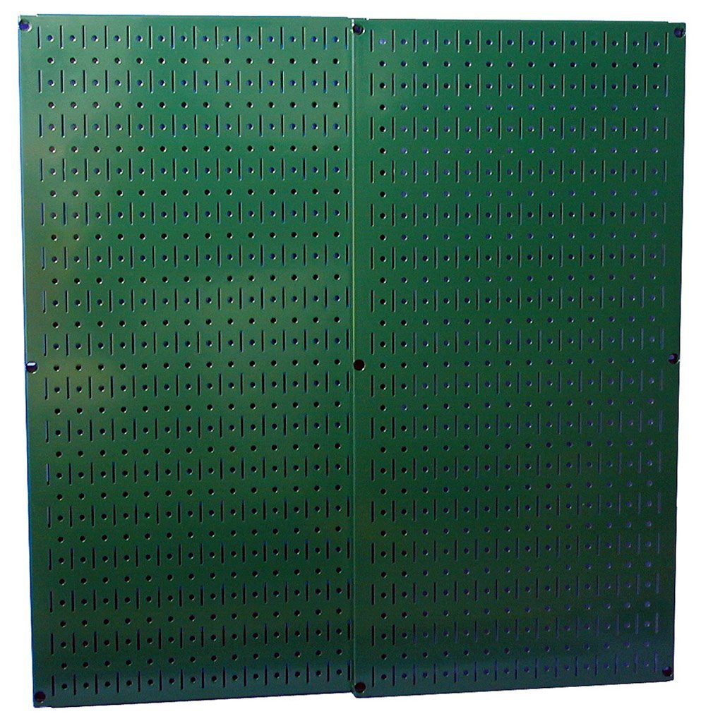 Wall Control 30P3232GN Green Metal Pegboard Pack with Two Pegboard Tool Boards