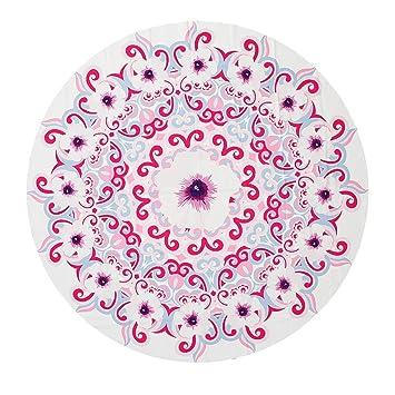 Axjzh Toallas de Playa Redondas con Bohemian Personalizada Impresión 150 * 150 cm de Mantel Circular