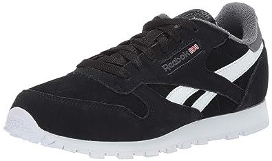 Amazon com   Reebok Kids' Classic Leather Sneaker   Shoes