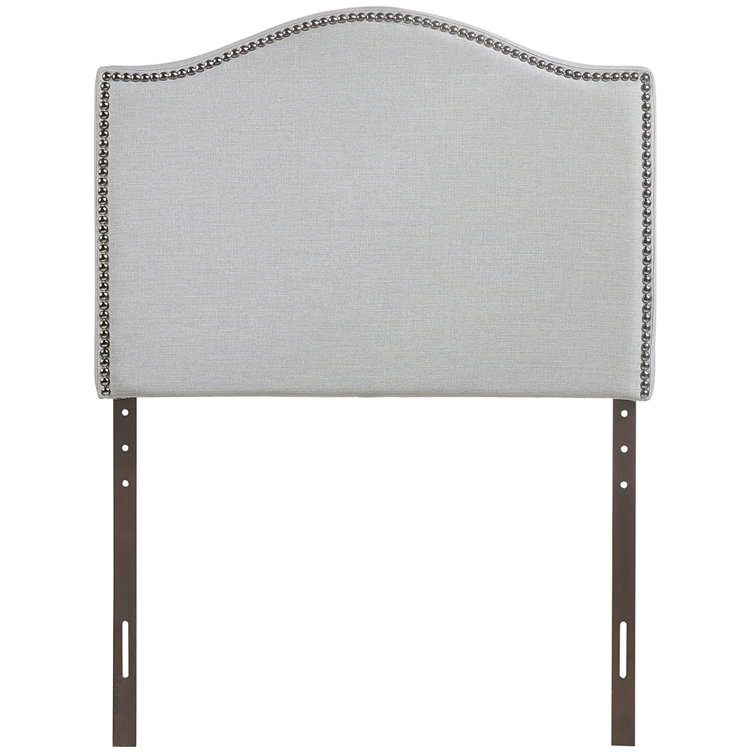 Amazon.com: Modway Curl Upholstered Linen Headboard With Nailhead ...