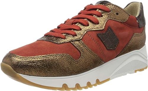 Tamaris Damen 1 1 23752 25 Sneaker, metallic, schwarz, 42 EU