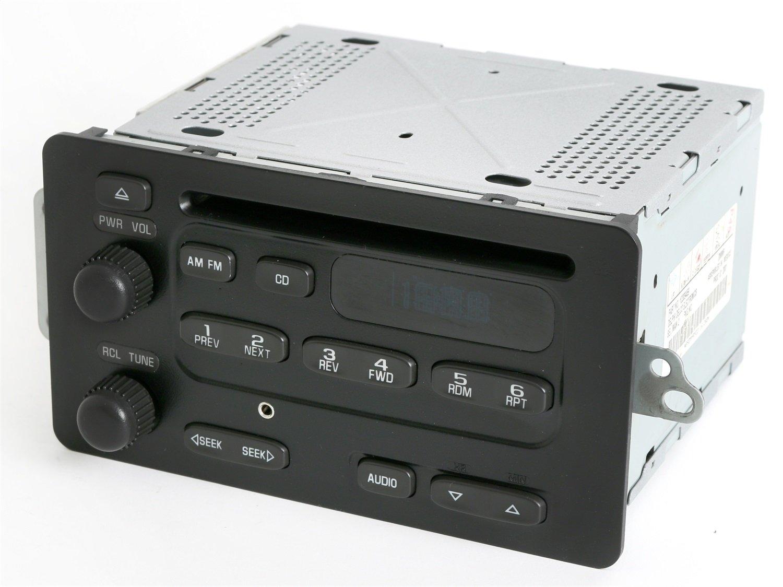 Amazon.com: Chevy Cavalier 2000-2005 Malibu AM FM CD Player Radio w Aux  iPod Input 10309459: Car Electronics