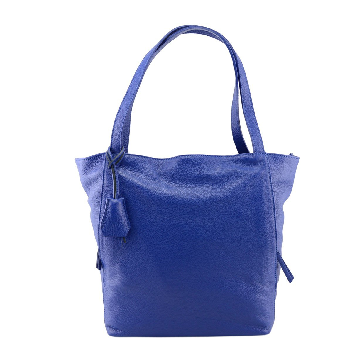 Dream Leather Bags Made in Italy Genuine Leather レディース 18-15 US サイズ: 1 カラー: ブルー B074M9L1J6