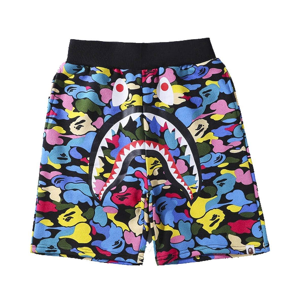 938db837 Men's/Women's Jungle Casual Short Pants BAPE A Bathing Ape Camouflage Shorts  Summer Beach Pants Sports Jump Rope Shorts at Amazon Men's Clothing store:
