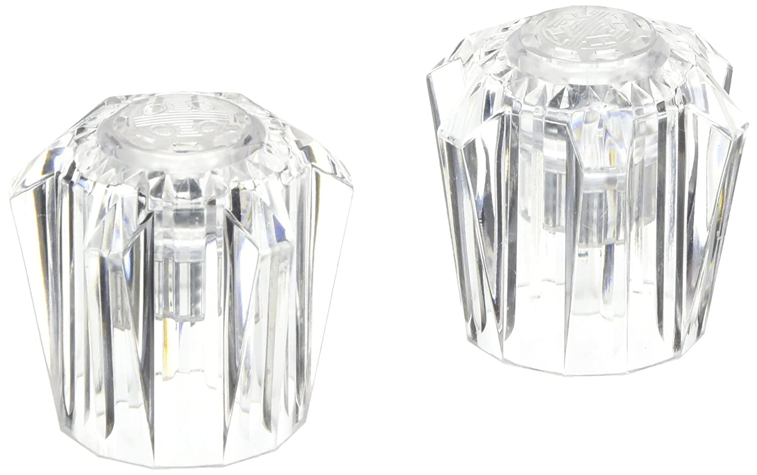 Pack of 2 W10-1562 LaSalle Bristol 39015 Utopia Clear Standard Size Handle for Faucets,