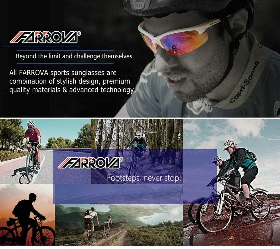 f4c9a28c463 Amazon.com   FARROVA - KD0152 POLARIZED Sports Sunglasses with Smart  Photochromic Lenses (Black Grey Lenses