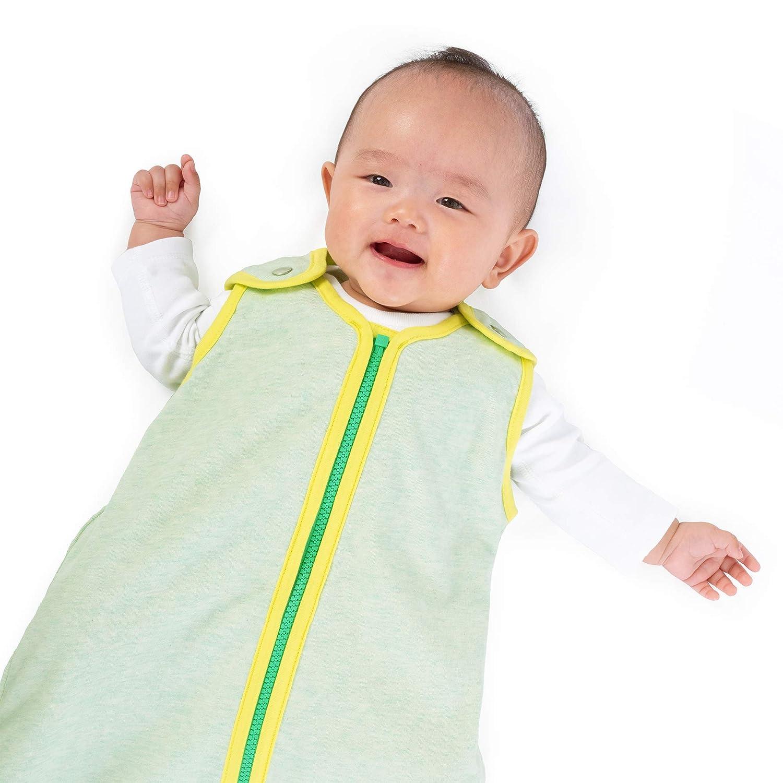 baby deedee Sleep Nest Lite Sleeping Bag Sack, Toddler Sized, Lemon Mint, Large (18-36 Months) (478)