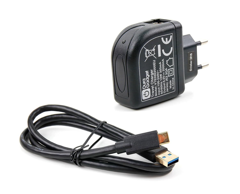 Cable de carga y cargador para Alcatel 5 y Nokia 6 (2018) + ...
