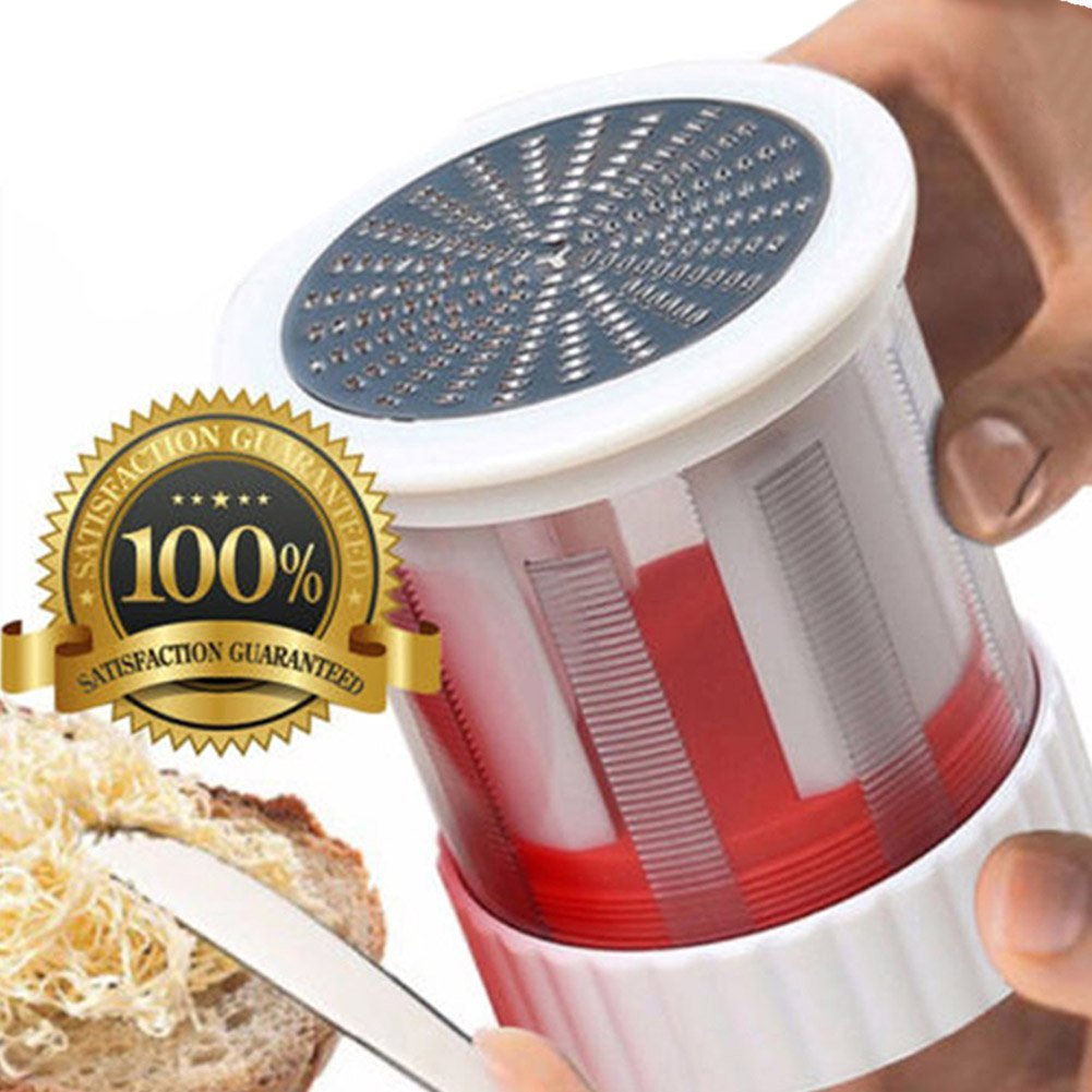 Butter Mill Grater, Shredded Butter Spreads/Melts More Easily, Smooth Spreadable Bread Veggies Corn Grater Cheese Slicer Baking Tools Kitchen Gadget