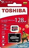 東芝 microSDXC 128GB 98MB/s Write65MB/s THN-M303R1280 4K A1 V30 U3 Toshiba 海外向パッケージ品
