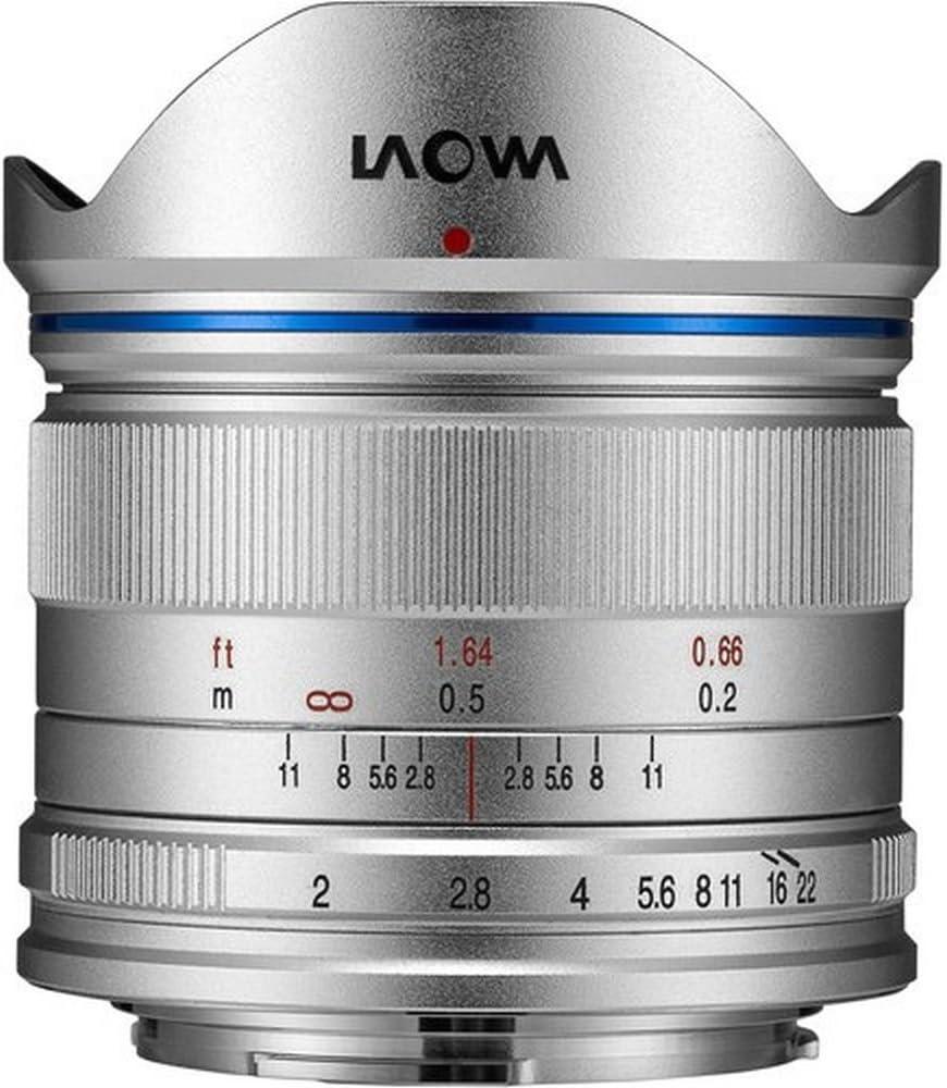 Laowa 7.5mm F2 Lightweight Micro 4/3 Plateado: Amazon.es: Electrónica