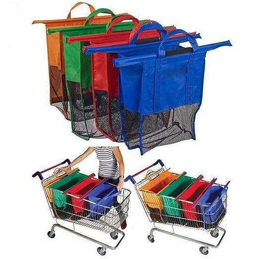 sohler por Eurotrade W Ltd Set de 4 Bolsas de supermercado ...