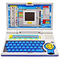 Mqfit Laptop Smart English Learning Educational Laptop – ABC Learning Computer for 3 Year Old Boys|Girls.