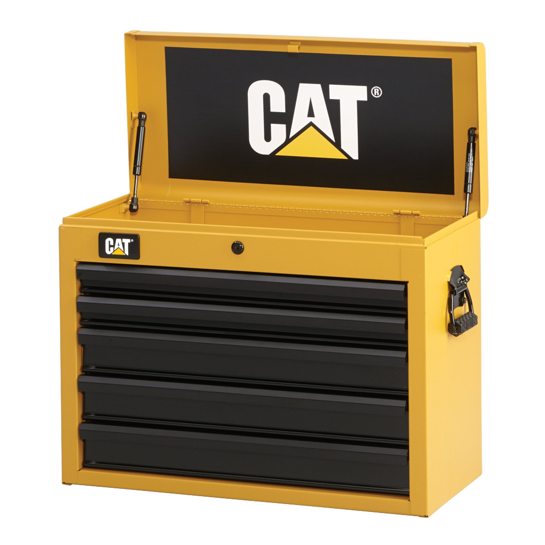 Cat 5-Drawer Ball-Bearing Tool Chest, 26'' W - Designed, Engineered and Assembled in the USA by Cat Tool Storage