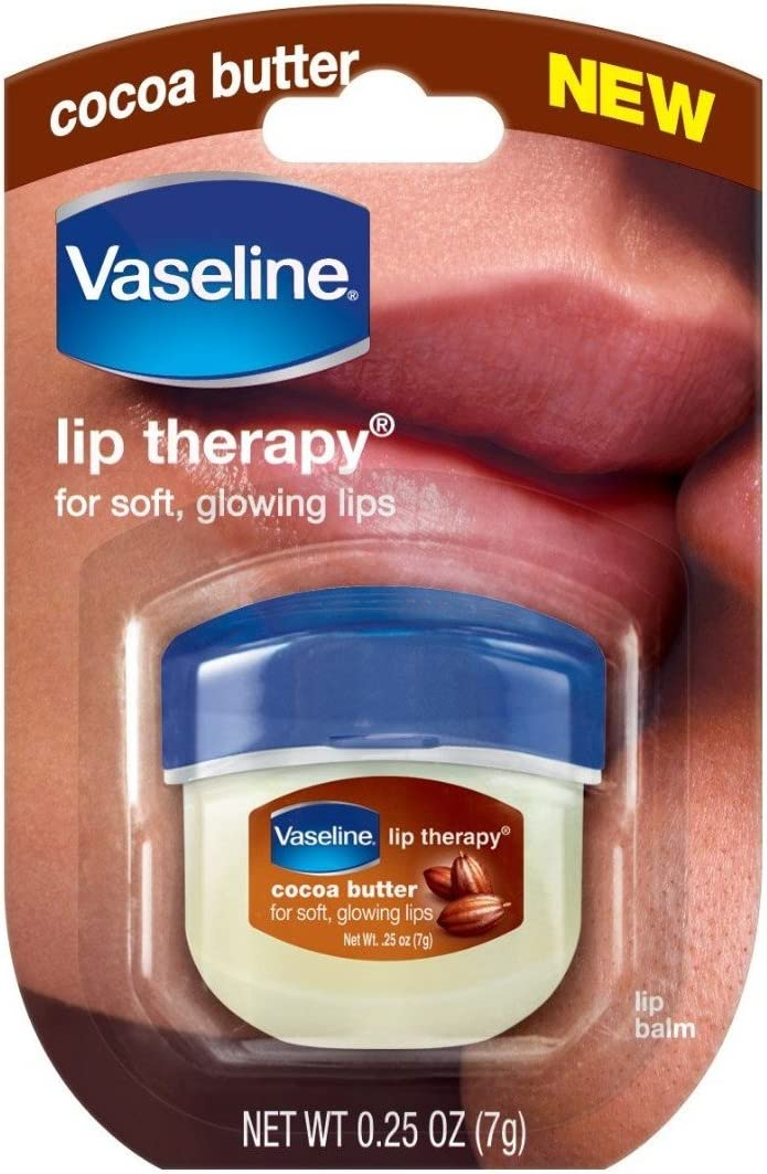 Vaseline Lip Therapy 0.25 Oz 3 Pack Bundle - Creme Brulee, Rosy Lips & Cocoa Butter: Health & Personal Care