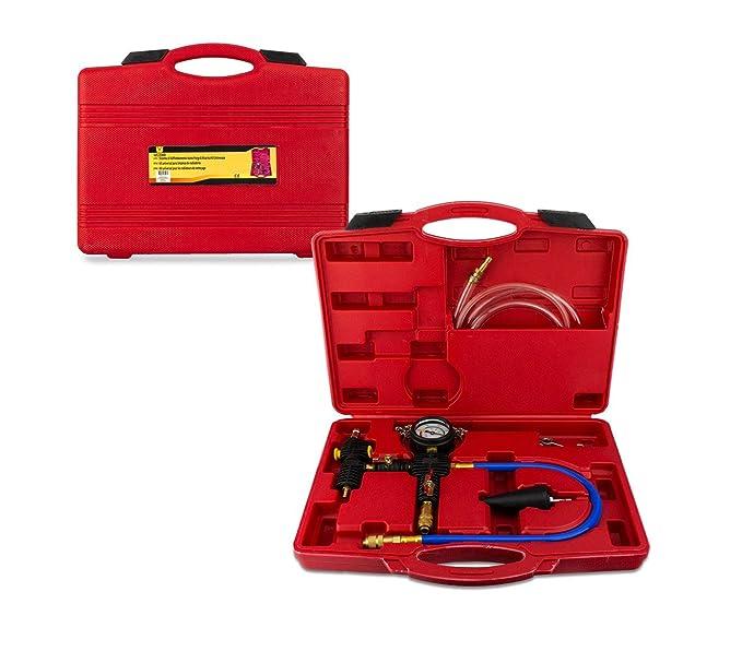 Bombas de agua y accesorios FreeTec Vacuómetro Manómetro Comprobador de Presión y Vacío para coche o camión Bricolaje y herramientas