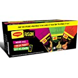 Maggi Fusian Noodles Limited Edition Pack of 12,  Assortment Box of 4*3, 876 g