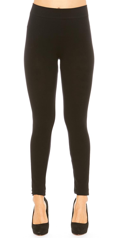 Just One Women s Basic Seamless Spandex Cotton Black Leggings (Black, M) at  Amazon Women s Clothing store  898c0aa4ce