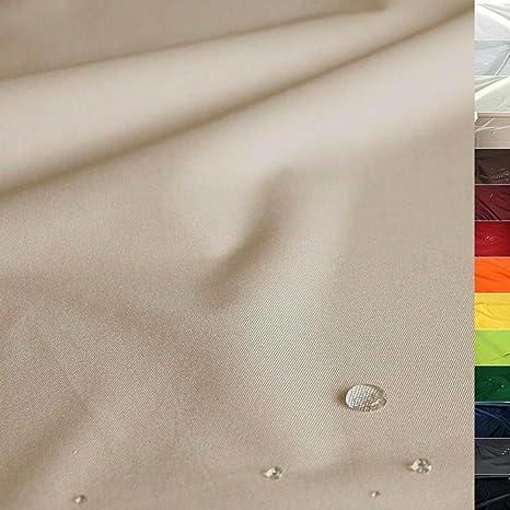 TOLKO Sonnenschutz Nylon Planen-Stoff Meterware - 180 cm Breit, Wasserdicht, Reißfest und Blickdicht als Universal Outdoorsto