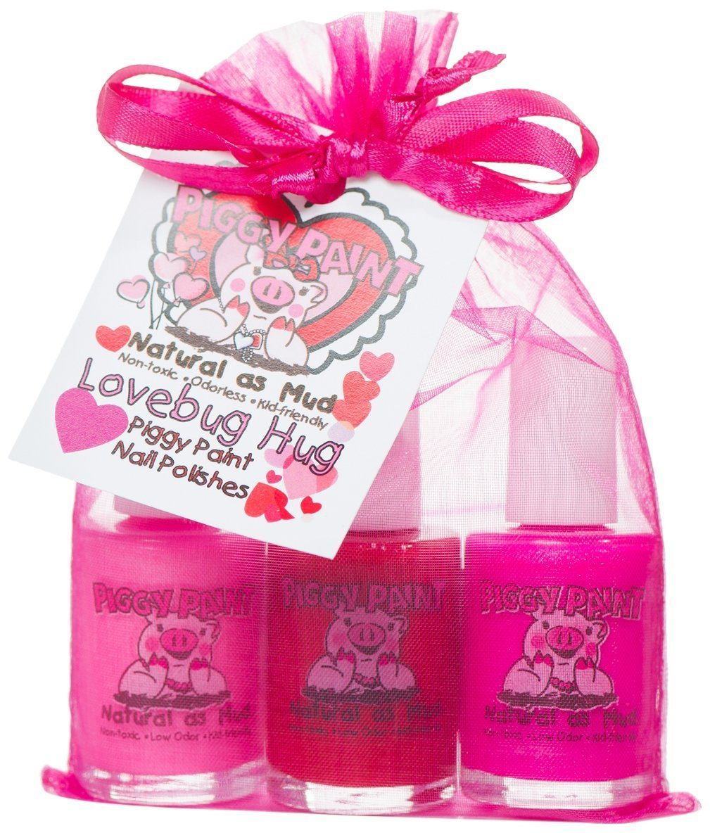 Amazon.com : Piggy Paint Nail Polish Gift Set, Little Miss ...