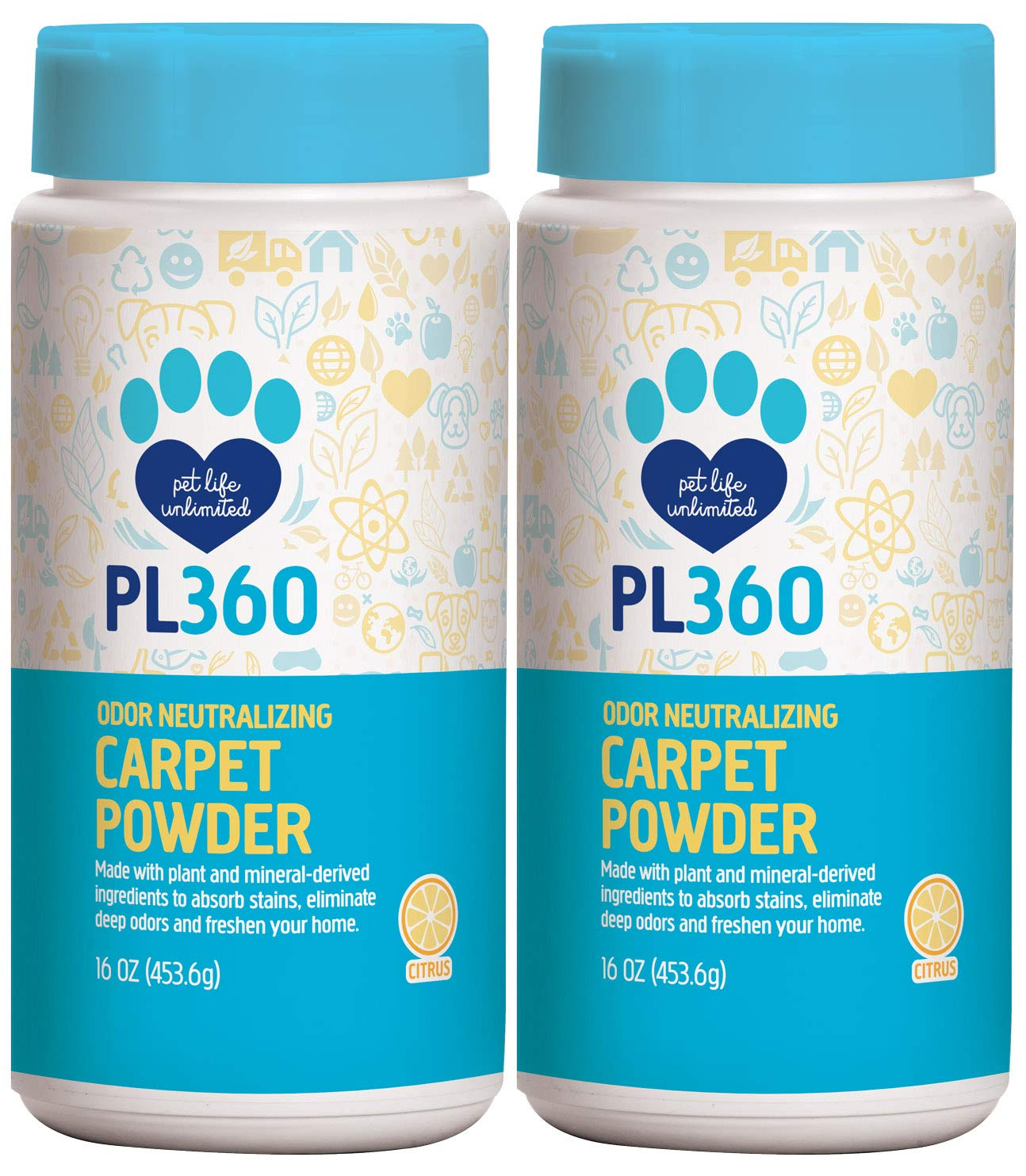 PL360 Odor Neutralizing Carpet Powder, 16oz