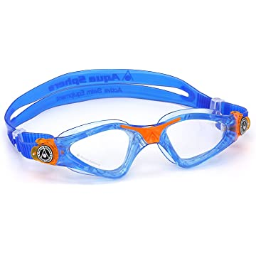 reliable Aqua Sphere Kayenne Junior Swim Goggles with Clear Lens