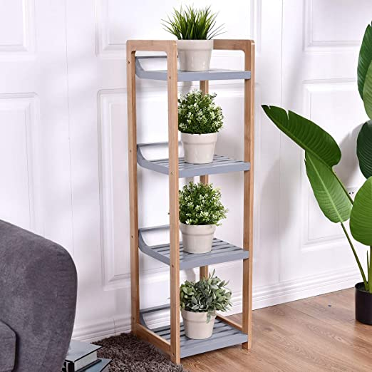 Amazon Com Living Room Design Ideas Functional Design Furniture Accessories Decor Furniture Set Decorations Reading Essentials Home Bedroom Decor 4 Tier Bamboo Multifunctional Storage Tower Stand Rack Kitchen Dining