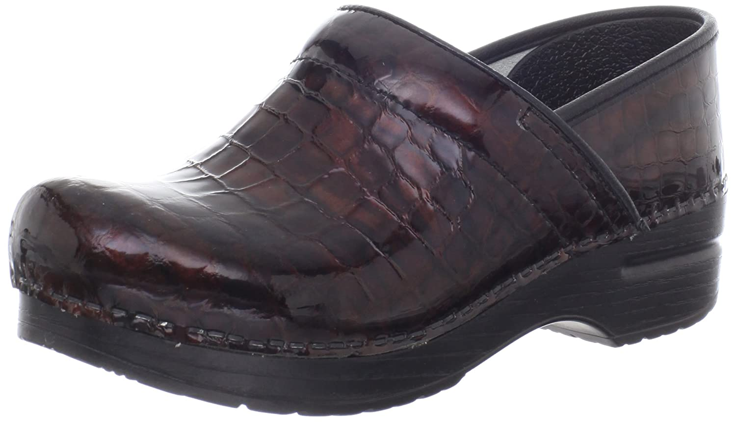 Dansko Women's Professional Brown Croc Clog