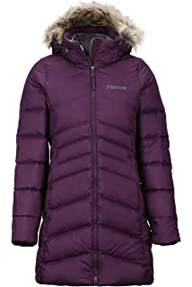 Marmot Montreal Womens Knee Length Down Puffer Coat Fill Power 700