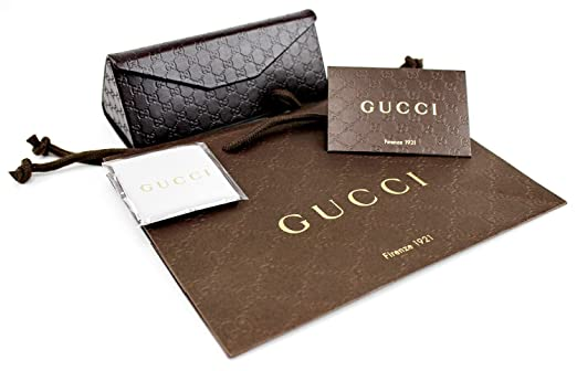 7c4c13f21e3 GUCCI GG2887 S Aviator Sunglasses Gold Black Leather w Grey Gradient (0UZA)  2887 S UZA JJ 61mm Authentic  Amazon.co.uk  Clothing