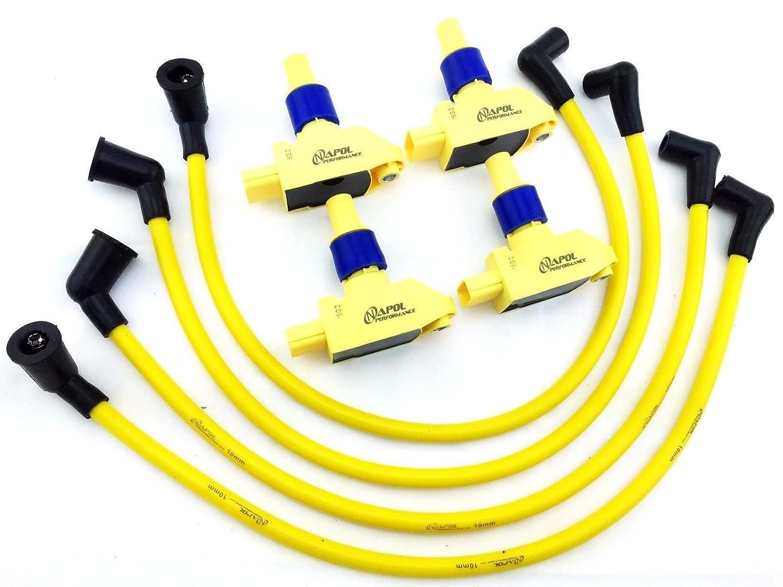 Amazon.com: 04-11 Mazda Rx8 Coils Rx-8 Ignition Coil Packs & 10mm  Performance Plug Wire Set: Automotive