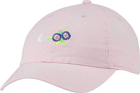 bc7d0794 Amazon.com : Nike Women's Sportswear H86 Floral Hat (Arctic Pink ...