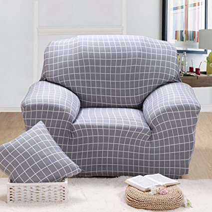 Awe Inspiring Chezmax Printed Couch Cover Polyester Spandex Fabric Sofa Cover 1 Piece Soft Stretched Loveseat Sofa Slipcovers Ncnpc Chair Design For Home Ncnpcorg