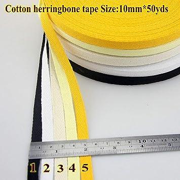 Amazon com: DalaB -100% Cotton Tape Herringbone/Twill Cotton