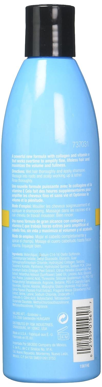Pelo farmacia Colágeno & Vitamina E MAX Volumen Champú 295 ml: Amazon.es: Belleza
