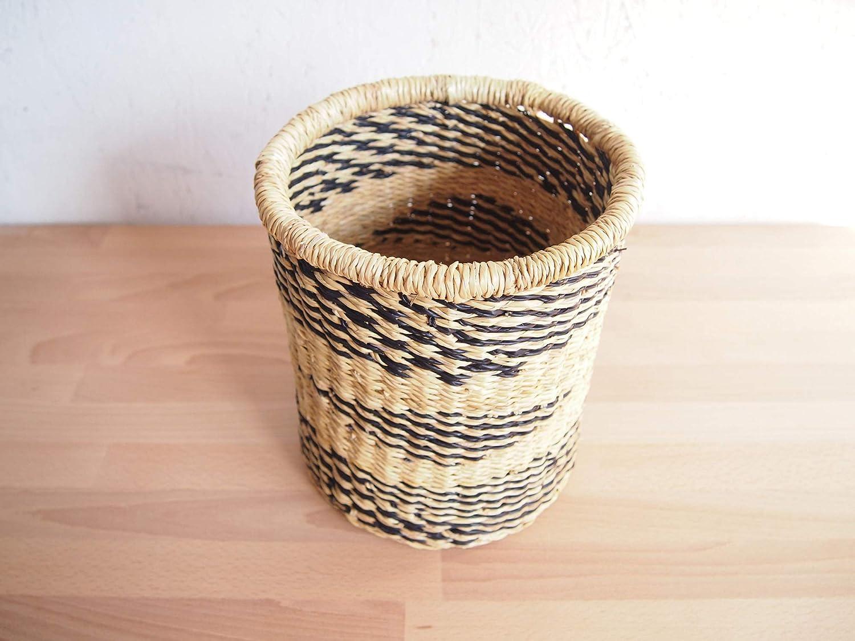 Ghana Decorative Waste Basket- Volta // Bolga Basket