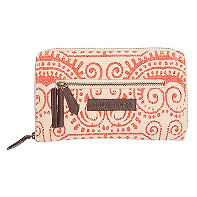 9858e71f718f Amazon.com: Bella Taylor Wallets & Wristlets - Amber Signature Zip ...