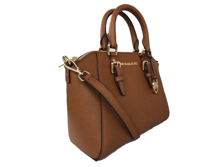 7bcca885f8133f Amazon.com: Michael Kors Ciara Medium Saffiano Leather Messenger/Satchel -  Luggage: Shoes
