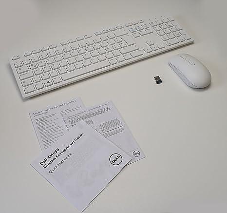 New 5T11R Wireless BRANCO Keyboard WK636/p Mouse MWM116p Receiver DGRFEO Combo WHITE Combinaç